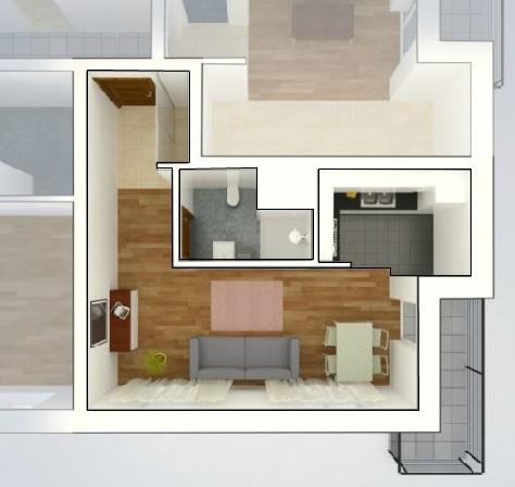 Mieszkanie Na Sprzedaż, Bezczynszowe Własnościowe 1-pokojowe Nowy Sącz. 4