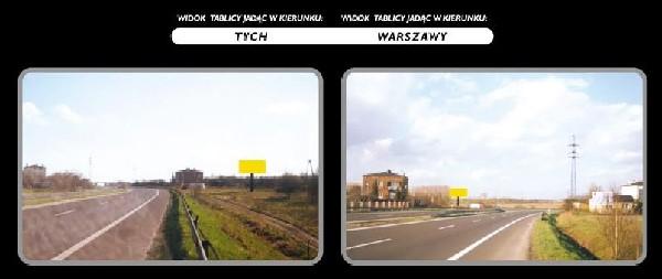 Okazja! Wynajme Lub Sprzedam Billboard Reklamowy Na Trasie Tychy Warszawa Wraz Z Dzialka